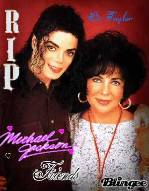 Who is this famous actress that is in the some picture with Michael?