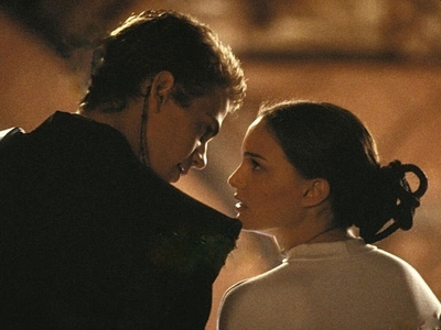 What makes Padme finally admit her 愛 for Anakin?