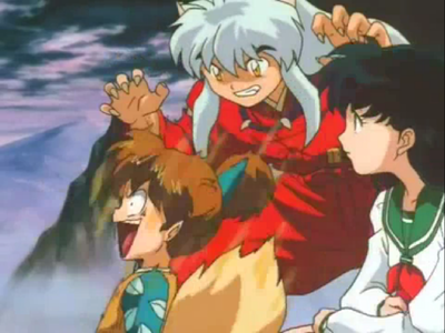 Episode #68: What does Inuyasha say in this scene?
