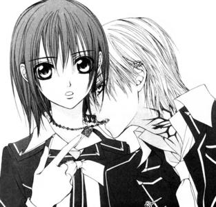 Which জাপানি কমিকস মাঙ্গা chapter did Yuuki discover Zero was a vampire?