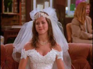 Rachel Green was portrayed by?