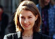 Emily Waltham was portrayed by?