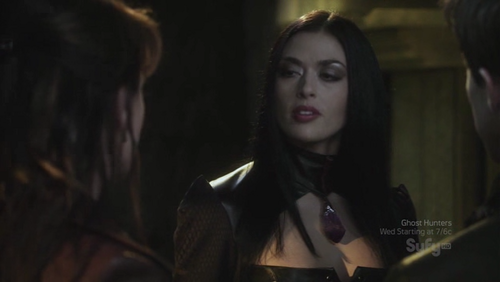"""What was the name of the vampire Queen Tesla and Helen encountered in the season 3 episode """"Awakening""""?"""