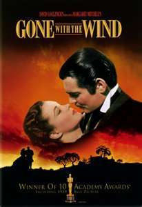 How many Academy Awards did Gone With The Wind win?
