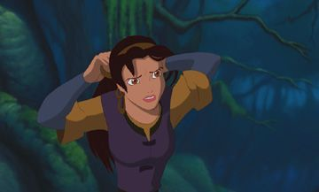 Quest for Camelot's Kayley is based on which character?