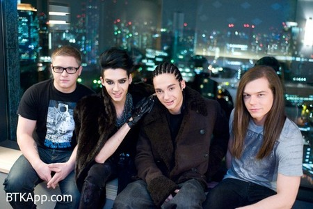 All members of the band Tokio Hotel are: