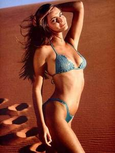 This model appeared on the 1984 and 1985 cover of the swimsuit issue, what is her name?