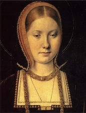 What fruit was associated with Katherine D'Aragon?
