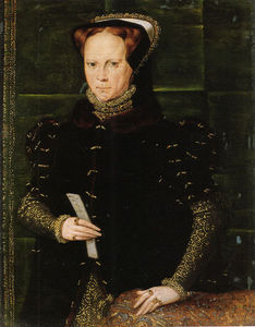 What was the Date of Mary I's death?