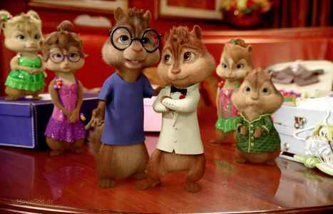 What place are the chipmunks and chipettes at in this chipwrecked scene?