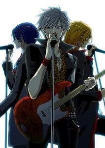 Which song is sang kwa Ranmaru Kurosaki, Masato Hijirikawa, and Ren Jinguji?