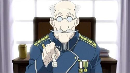 True 或者 False: General Grumman Is Riza's Grandfather
