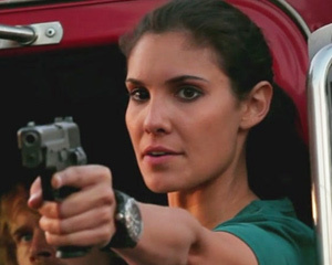 True or False: Kensi was the only female on the team during season 1.