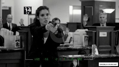 "In ""The Bank Job"" how many times does Kensi get shot?"