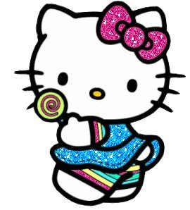 how many apples does hello kitty weigh?