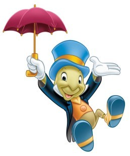 Who voiced the cute conscience of a cricket, Jiminy Cricket in the original Pinocchio?