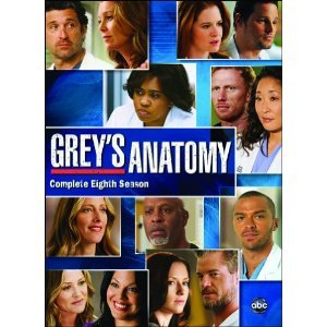 During season 8, how much does an ad for Grey's Anatomy cost?