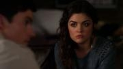 Which of Aria's parents got a note from A about where Ezria would be?