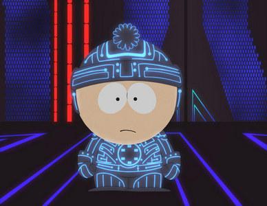 What South Park episode parodied TRON?