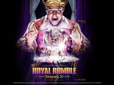 (Complete): At Royal Rumble 2012, Jericho entered the Royal Rumble match at number ....
