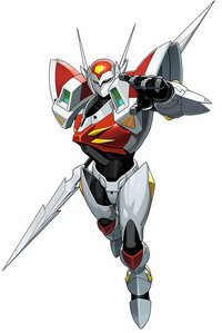 What is the command for Tekkaman Blade's Falchion attack?