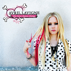 Which song from The Best Damn Thing is Avril favorite?