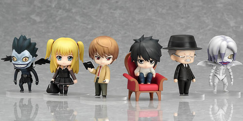 When did the first Nendoroid Petite: Death Note - Case File #01 come out?