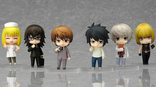 When was the  Nendoroid Petite: Death Note - Case File #02 released by Good Smile Company?
