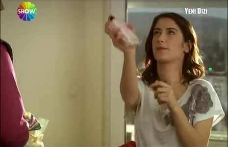 Feriha was talking with :