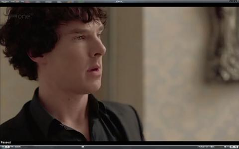 "What was the first song we hear Sherlock playing on his violin in ""A Scandal in Belgravia""?"
