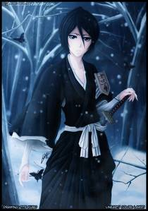 What position does Rukia hold. In this pic.