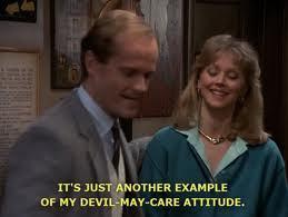 Season 4:Sam says Diane was what when Frasier met her?