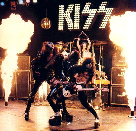 Where was the Kiss Army created?