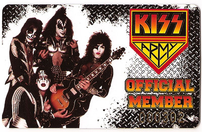 The RELAUNCH of the Kiss Army was what year?