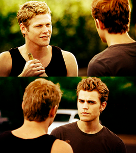 In the books who is jelaous of matt and stefan's friendship