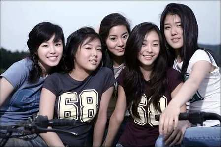 What was the name of this group that is comprised of Hyosung(SECRET), UEE(After School), Yubin(Wonder Girls), G.Na and Jiwon(SPICA)?