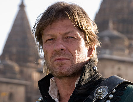 Author Bernard Cornwell was so impressed by Sean Bean's performances in the Sharpe series that he dedicated one of the novels to him. What novel was dedicated to him?