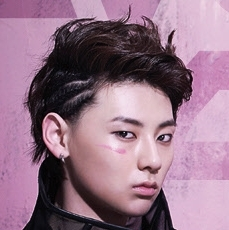 """Who was the person that was shoved by MinHyun in the music video """"Face""""?"""