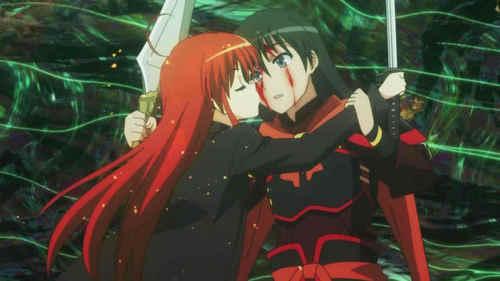 Did Shana and Yuji kissed?