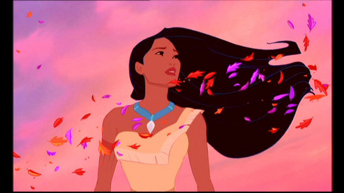 What did Irene Bedard provide for the character Pocahontas?