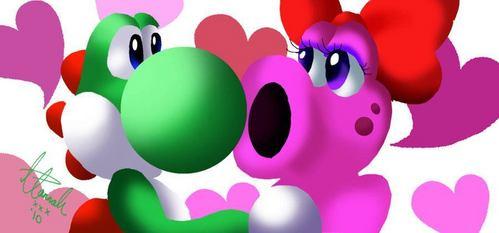 Do anda think Yoshi and Birdo belong together?