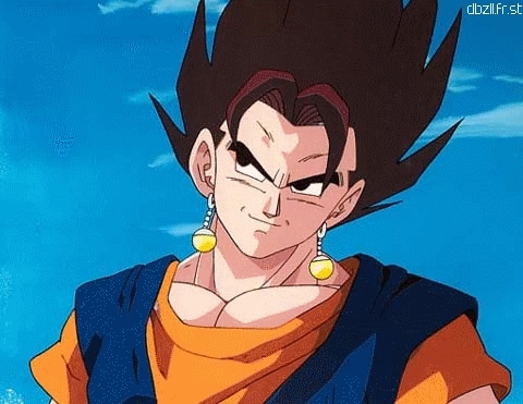 where the fusion of goku and vegeta as veigeto over?