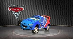 the character raoul caroul is inspired by what real life rally champion?