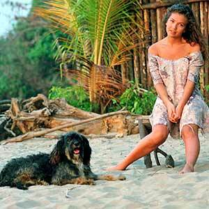 What is Marimar's dog's name on Marimar?