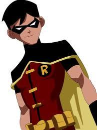 Who knows of Robin's real identity and is his best pal?