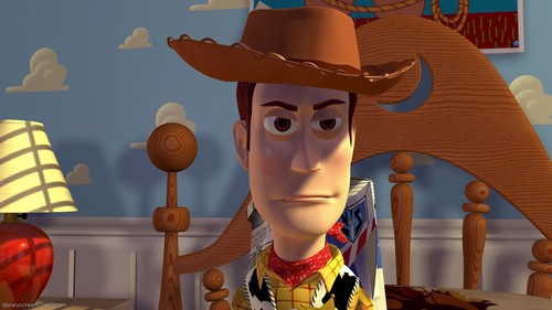 In Toy Story, Woody sinabi that he is still Andy's paborito toy. Is it true?