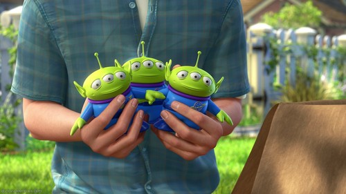 TOY STORY 3: Who voiced the aliens?