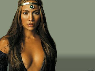 Jennifer Lopez is the first woman to have a movie and an album at number one in the same week. What were they?