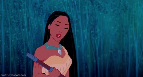 How tall is Pocahontas compared to John Smith?