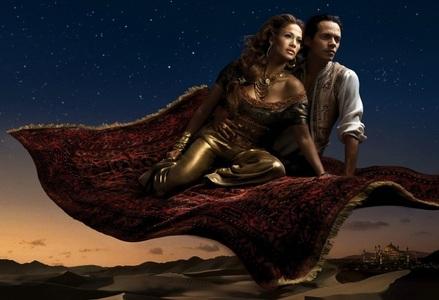 Jennifer Lopez and Marc Anthony as?